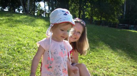 Opalování s dětmi