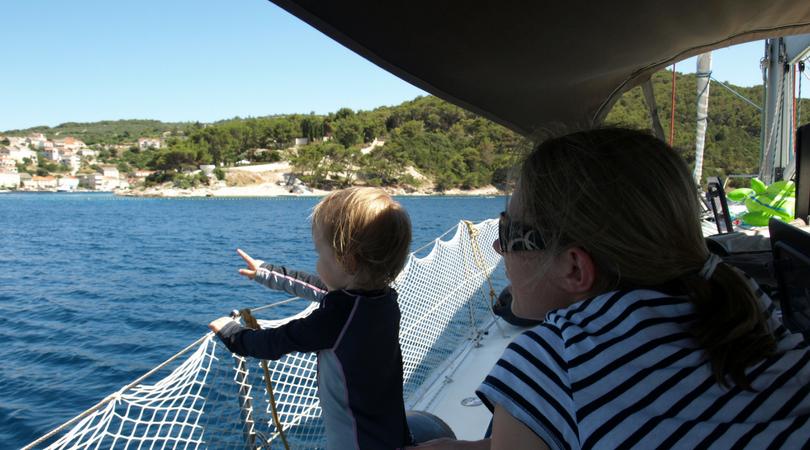 Jachting s dětmi