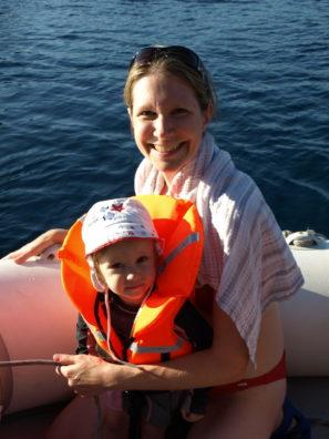 Deti na lodi